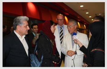رئیس سازمان جهانی و رئیس کمیته فنی کیوکوشین کان کاراته در کورش مال + فیلم