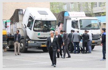 کورش مال - گروه صنعتی گلرنگ - سیل - کمک - خوزستان - لرستان