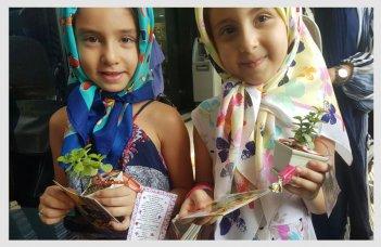 روز دختر - کورش مال- حجاب
